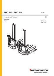 EMC 110 / EMC B10 - Jungheinrich