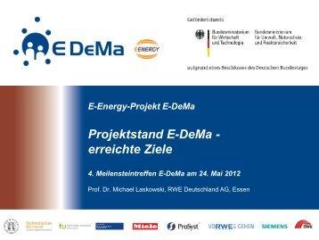 Download des Vortrags - E-DeMa
