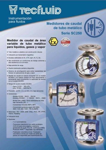 Catálogo SC250 español rev2.pub - Tecfluid