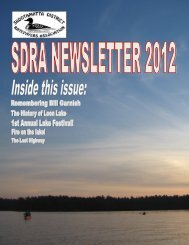 2012 SDRA Newsletter - Skootamatta District Ratepayers Association
