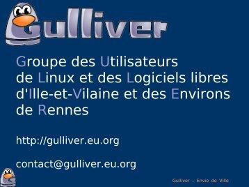 Groupe des Utilisateurs de Linux et des Logiciels ... - Linux-France