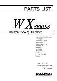 Parts book for Kansai WX UTC