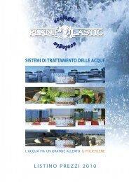 Listino PLANIPLASTIC 2007 - Poliplast