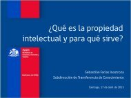 Qué es la Propiedad Intelectual? - Inapi Proyecta