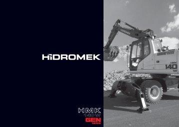 140 W Gen Serisi - Türkçe Katalog - Hidromek