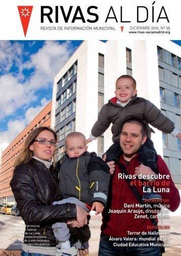 Rivas Al Día Nº 95 Diciembre 2010 - Ayuntamiento Rivas Vaciamadrid
