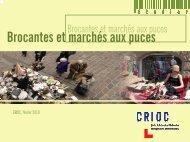 Brocantes et marchés aux puces - Crioc