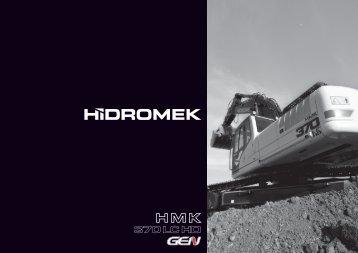 370 LC HD - Hidromek