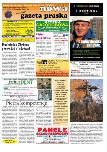PANELE - Nowa Gazeta Praska