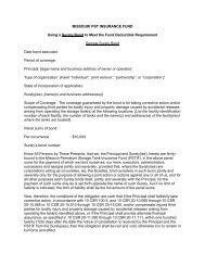 Using a Surety Bond - Missouri Petroleum Storage Tank Insurance ...