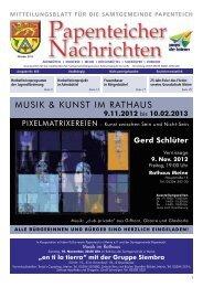 PN Oktober 2012 - Samtgemeinde Papenteich