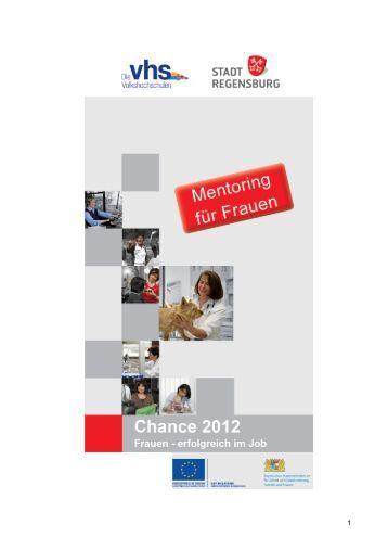 Chance 2012 Mentoring Frau und Beruf