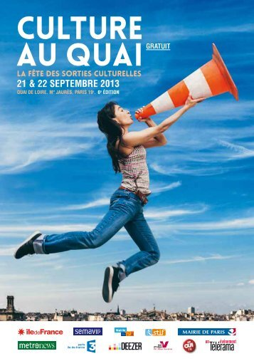 CULTURE AU QUAI - Etudiantdeparis.fr