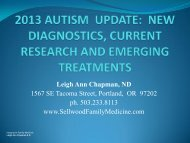Autism - American Association of Naturopathic Physicians