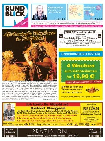 Afrikanische Rhythmen in Rahlstedt