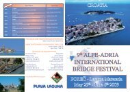 9th ALPE-ADRIA INTERNATIONAL BRIDGE ... - Crobridge.com