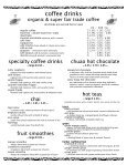 Full Menu - Coupa Cafe - Page 2