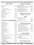 Full Menu - Coupa Cafe - Page 3