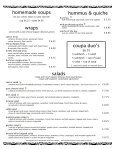 Full Menu - Coupa Cafe - Page 4