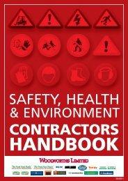 Woolworths SHE Contractors Handbook - Countdown
