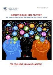 IDEA Factory AP - Asia Pacific Institute of Management
