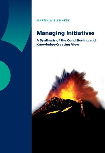 Managing Initiatives - RePub - Erasmus Universiteit Rotterdam