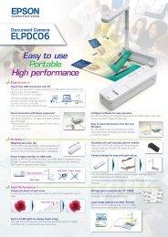 Tech spec - Epson