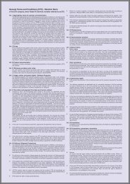 General Terms and Conditions (GTC) - Manikin/ Barts - ETD