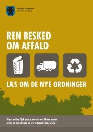 Ren besked om affald - TÃ¥rnby Kommune