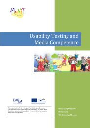 Usability Testing and Media Competence