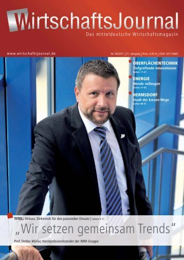 Ausgabe 09/2011 - Wirtschaftsjournal