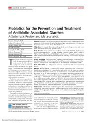 Probiotics for the Prevention and Treatment of Antibiotic-Associated ...