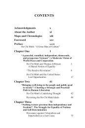 Table of Contents - de Sitter Publications