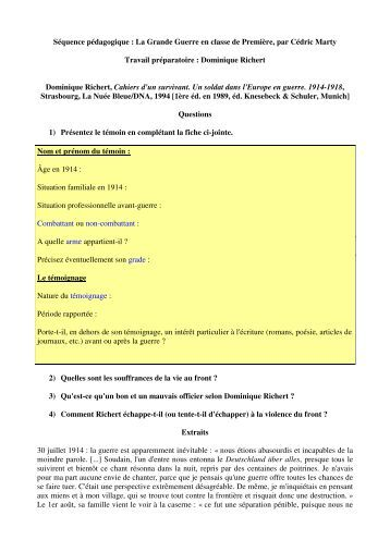 Richert, Dominique - CRID 14-18
