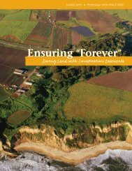 "Ensuring ""Forever"" Ensuring ""Forever"" - Peninsula Open Space Trust"