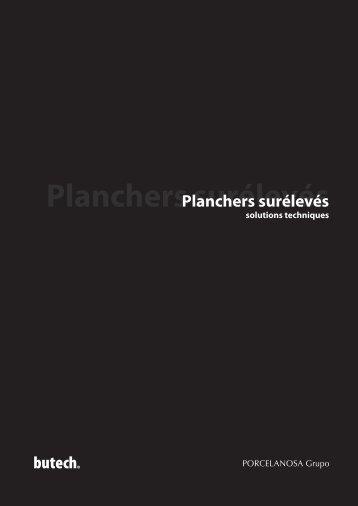 Planchers surélevés - Butech