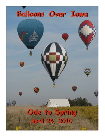 March/April 2010 - Balloons Over Iowa