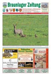 Tel.: 05520 - Braunlager Zeitung