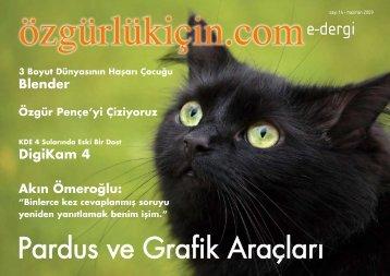 Pardus ve Grafik Araçları - Özgürlük için...