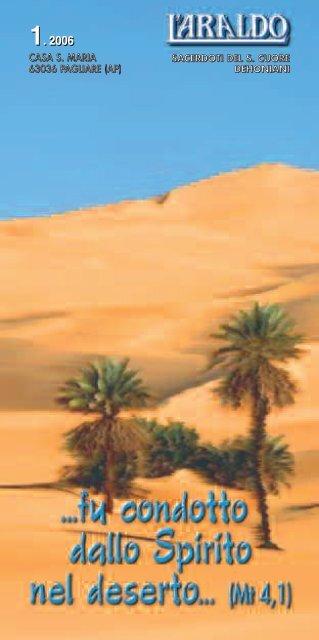fu condotto dallo Spirito nel deserto - casasantamaria.it