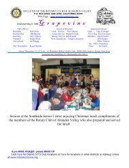 grapevine for 11-08-12 - The Rotary Club of Almaden Valley