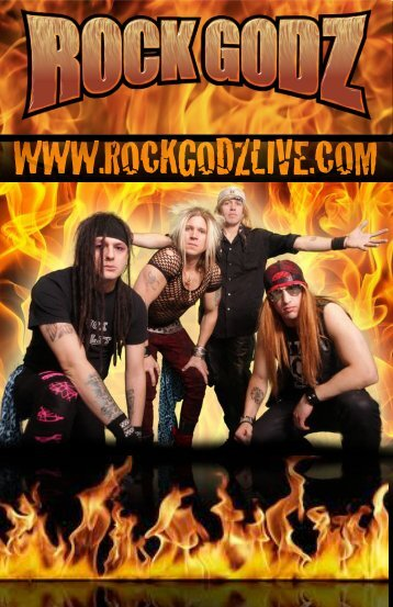 to download press kit (PDF) - Rock Godz