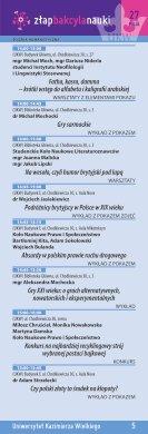 7 - Bydgoski Festiwal Nauki - Page 5
