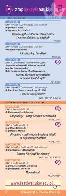 7 - Bydgoski Festiwal Nauki - Page 6