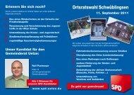 Ortsratswahl Schwüblingsen - SPD-Ortsverein Uetze