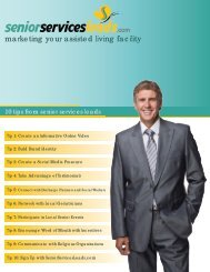Assisted Living Marketing Plan - Iowa Association of Homes ...