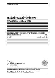 315 kB - publikace FSV UK - Univerzita Karlova