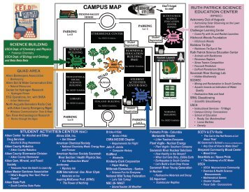 CAMPUS MAP - The Ruth Patrick Science Education Center