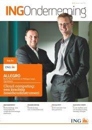 ALLEGRO - ING Onderneming - ING Belgium