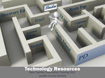 Technology Resources - The Teachers' Tech Lounge
